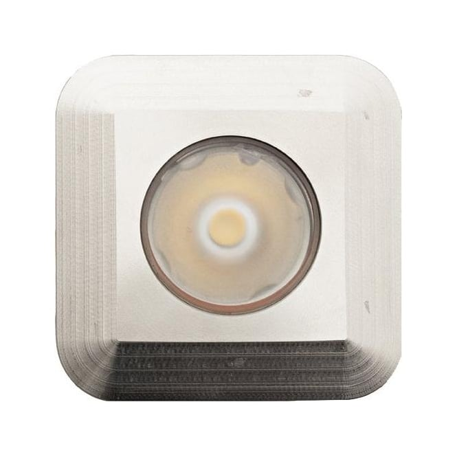 LuxR LED lighting Modux 1 watt with Square Recessed Stainless Steel