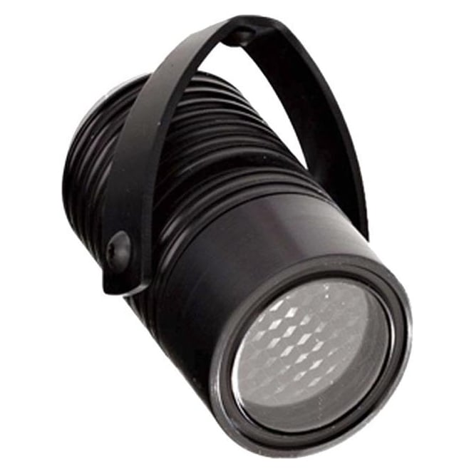 LuxR LED lighting Modux 2 watt - Round with Bracket - Black