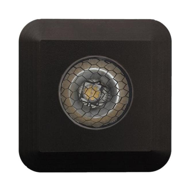 LuxR LED lighting Modux 2 watt - Square - Black