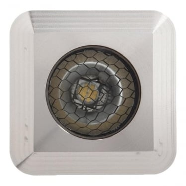 Modux 2 Watt - Square Recessed - Stainless Steel