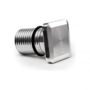 Modux 2 watt - Squarelight Wash - Stainless Steel