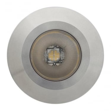 Modux 4 watt - Round- Stainless Steel