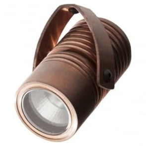 Modux 4 watt - Round with Bracket - Copper