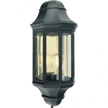 Malaga Half Lantern Black M8 art.170