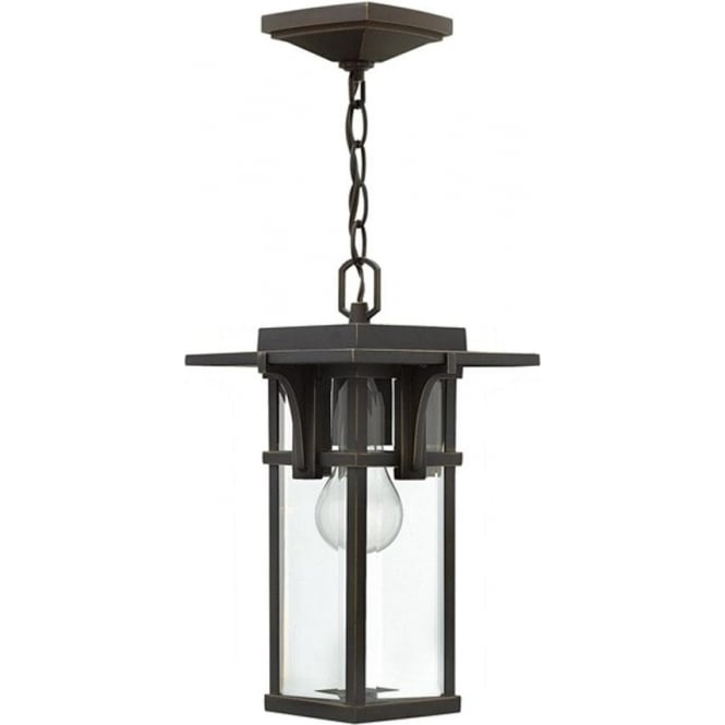 Hinkley Lighting Manhattan chain lantern - Bronze