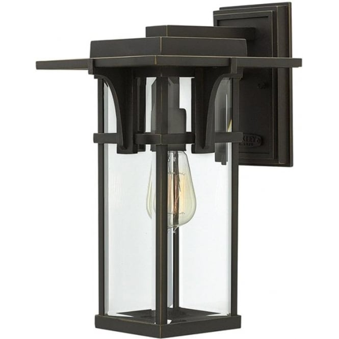 Hinkley Lighting Manhattan medium wall lantern - Bronze