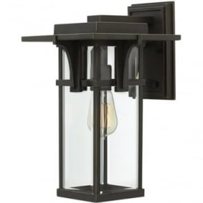 Manhattan medium wall lantern - Bronze