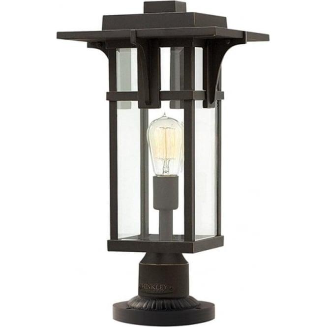 Hinkley Lighting Manhattan pedestal - Bronze