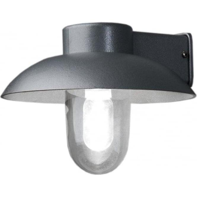 Konstsmide Garden Lighting Mani wall light - aluminium 415-310