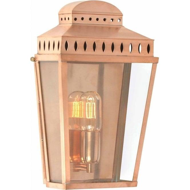 Elstead Lighting Mansion House Wall Lantern - Copper