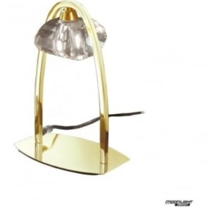 Alfa Single Light Table Lamp French Gold