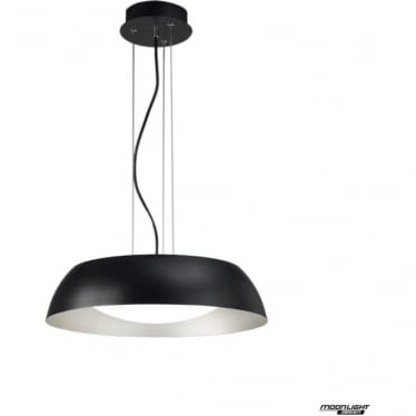 Argenta Pendant Small LED Black/Silver