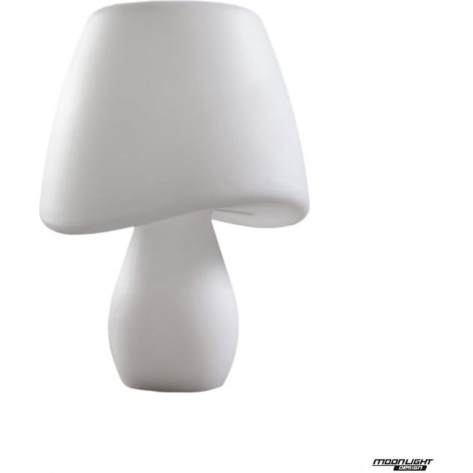 Mantra Cool 2 Light Table Lamp Outdoor White IP65