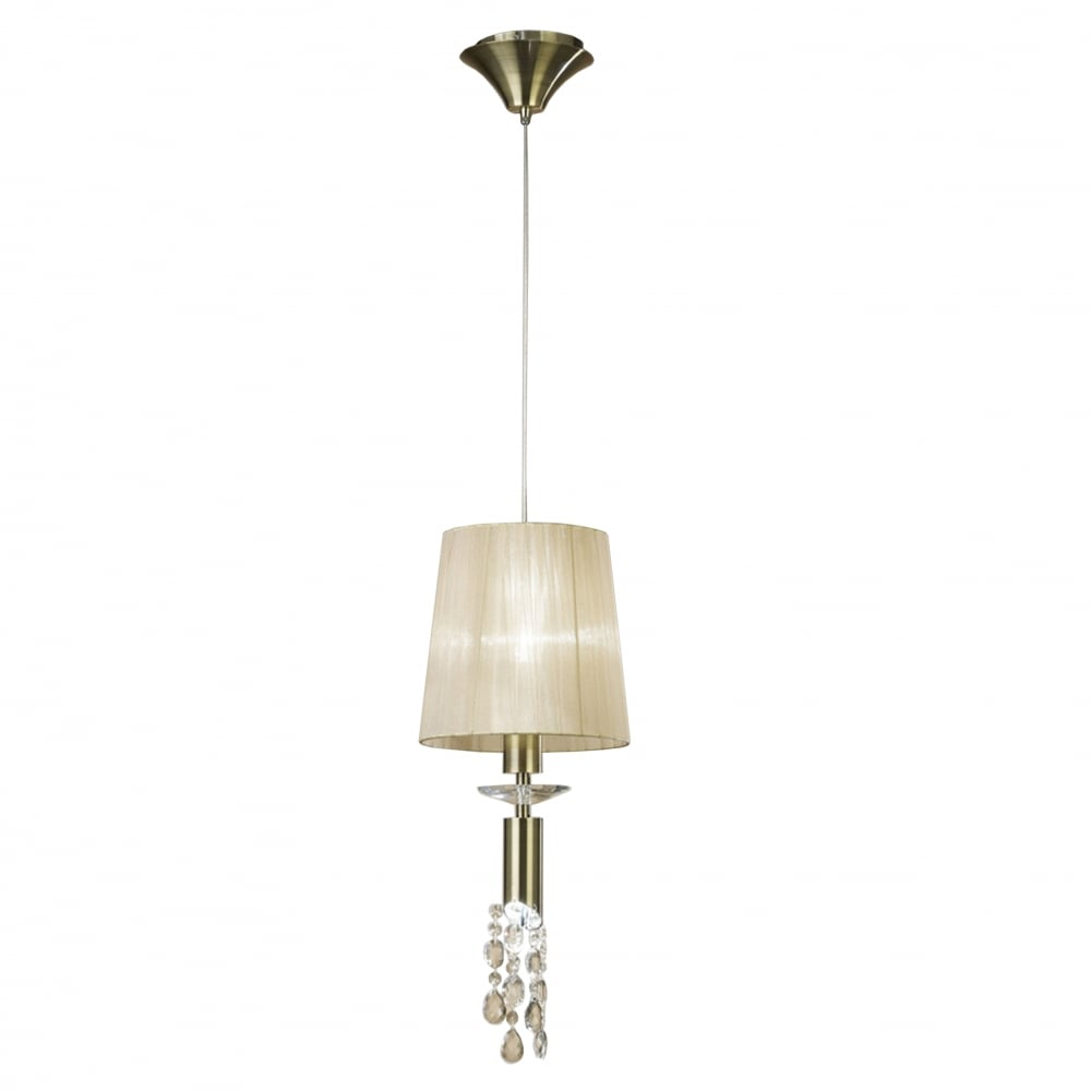 Mantra mantra tiffany 2 light adjustable ceiling pendant antique tiffany 2 light adjustable ceiling pendant antique brass with soft bronze shade amp clear aloadofball Images