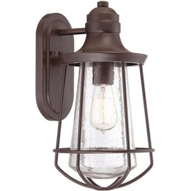 Marine medium wall lantern - Western Bronze