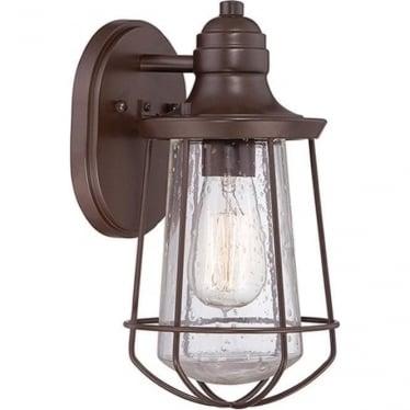 Marine small wall lantern - Western Bronze