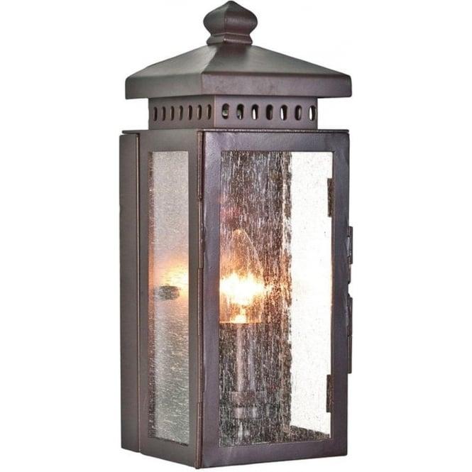Elstead Lighting Matlock Wall Lantern - Old Bronze