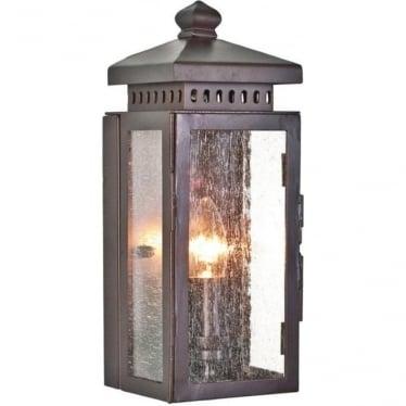 Matlock Wall Lantern - Old Bronze