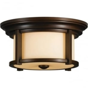 Merrill flush mount fitting - Bronze