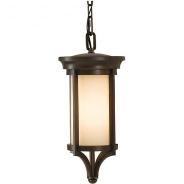 Merrill small chain lantern - Bronze
