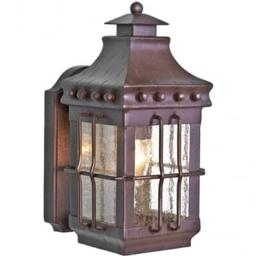 Merrow Wall Lantern - Old Bronze