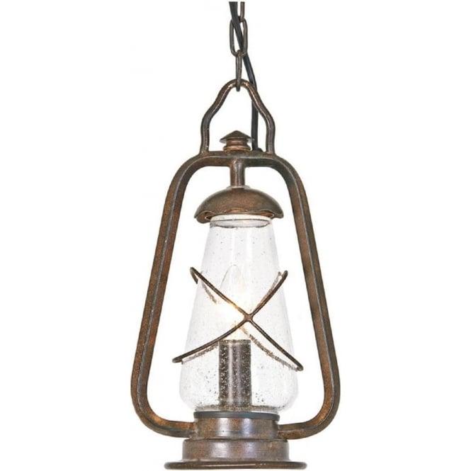 Elstead Lighting Miners Chain Lantern - Old Bronze