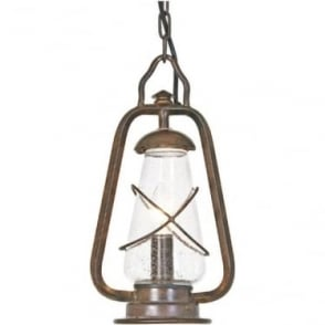 Miners Chain Lantern - Old Bronze