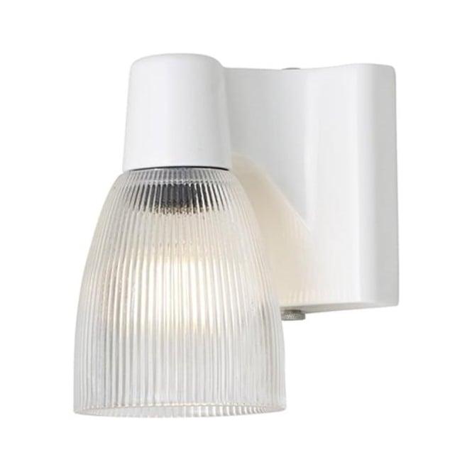 Original BTC Lighting Minster 1 prismatic wall light