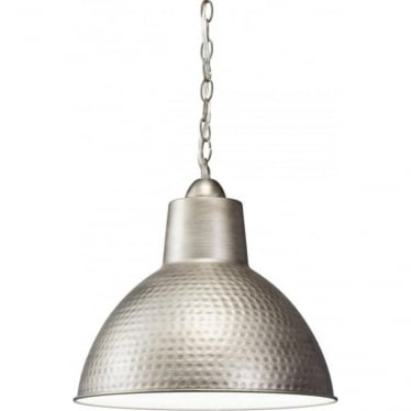 Missoula Single Pendant Antique Pewter - Small