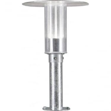 Mode gate post  LED - galvanised 701-320