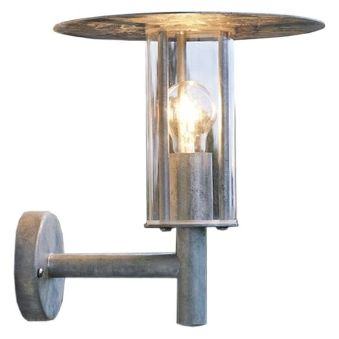 Konstsmide Garden Lighting Mode wall light - galvanised 660-320