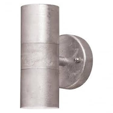 Modena up/down light - galvanised 7571-320