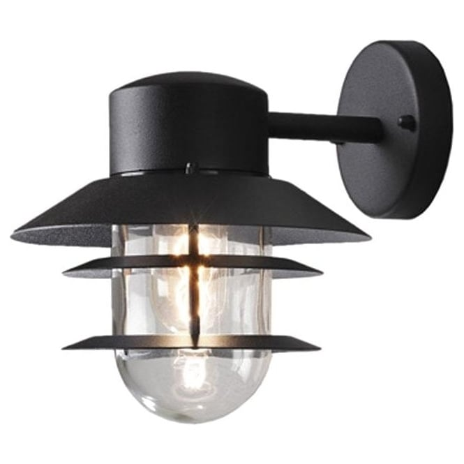 Konstsmide Garden Lighting Modena wall lamp - black 7310-750