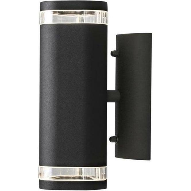 Konstsmide Garden Lighting Modena wall lamp double - black 7512-750
