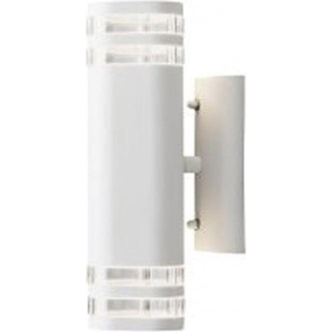 Konstsmide Garden Lighting Modena wall lamp double - white 7516-250