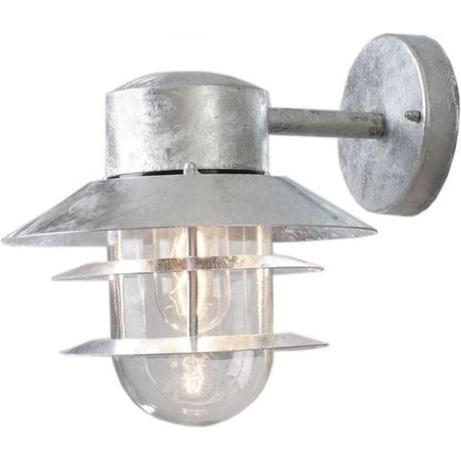 Konstsmide Garden Lighting Modena wall lamp - galvanised 7310-320