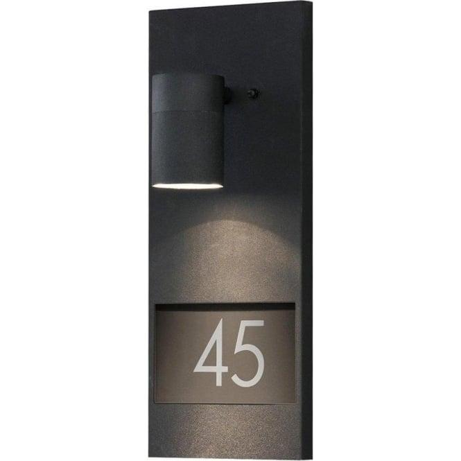 Konstsmide Garden Lighting Modena wall lamp - house  light - black 7655-750