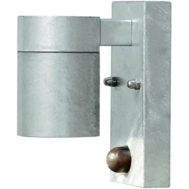 Modena wall lamp single PIR - galvanised 7541-320
