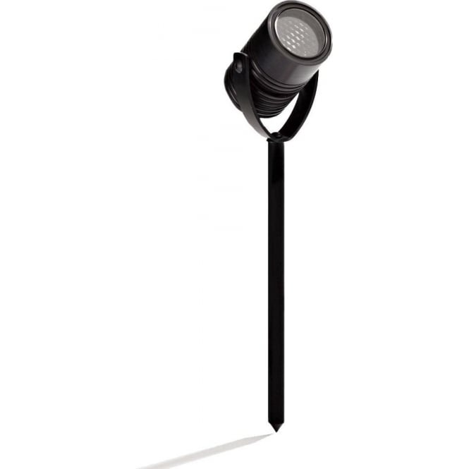 LuxR LED lighting Modux 1 watt - Round with Spike - Black