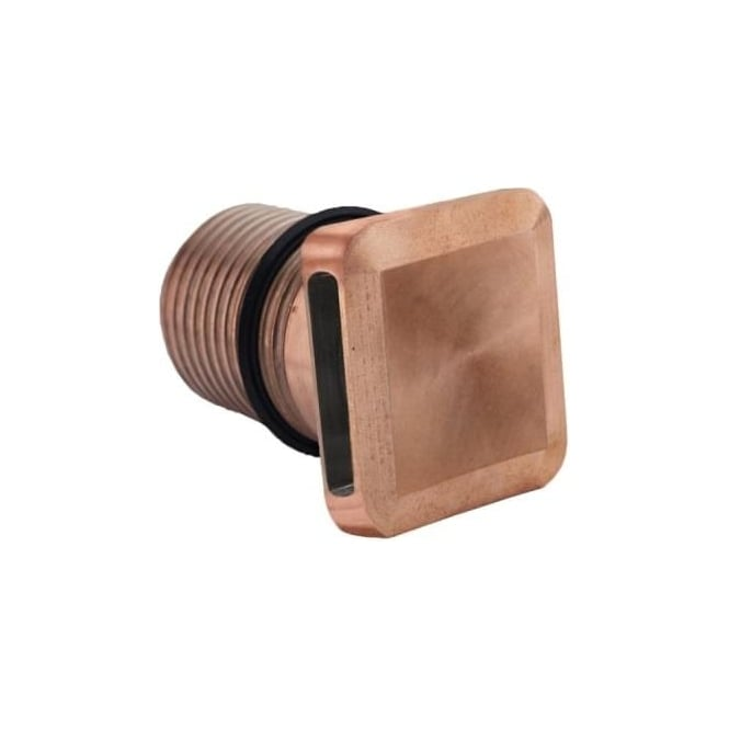 LuxR LED lighting Modux 2 watt - Squarelight Wash - Copper