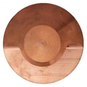 Modux 4 watt - Round  Step light - Copper