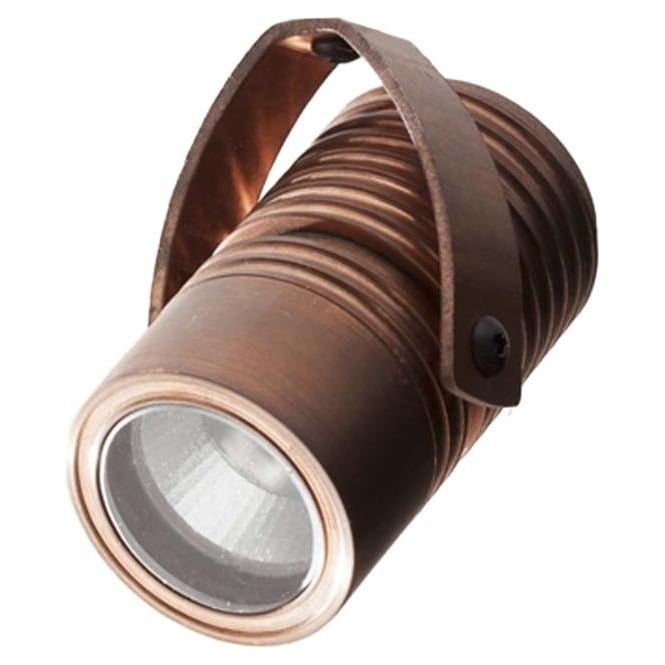 LuxR LED lighting Modux 4 watt - Round with Bracket - Copper