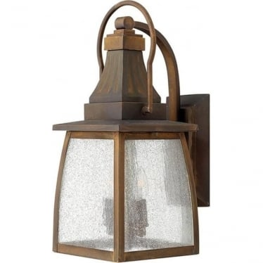 Montauk medium wall lantern - Sienna