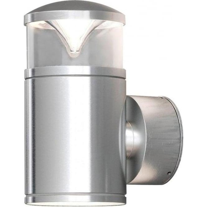 Konstsmide Garden Lighting Monza wall lamp double - aluminium 7905-310