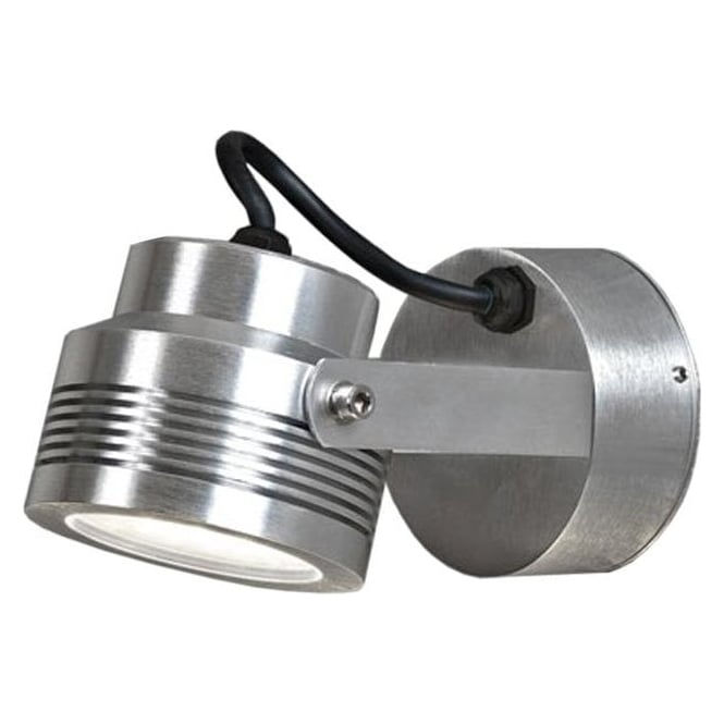 Konstsmide Garden Lighting Monza wall lamp high power LED - aluminium 7917-310