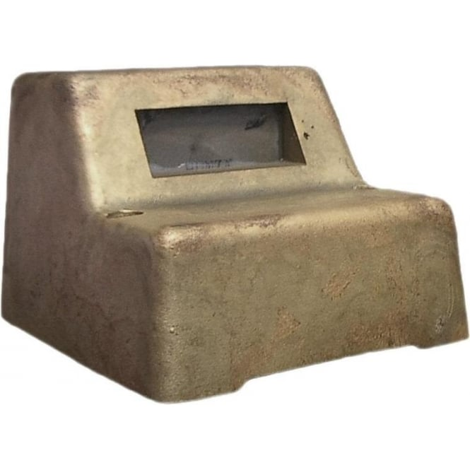 Hunza Outdoor Lighting Mouse Light Square Retro - Solid Bronze- MAINS