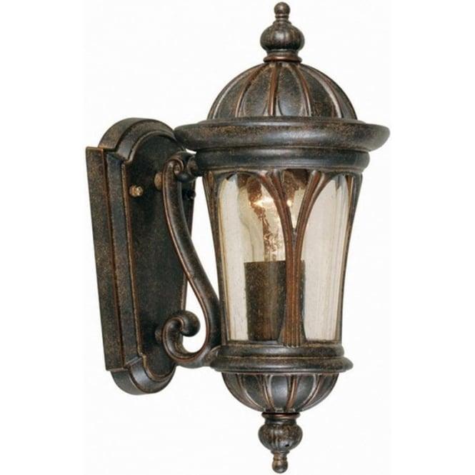 Elstead Lighting New England Wall Lantern Small - Weathered Bronze