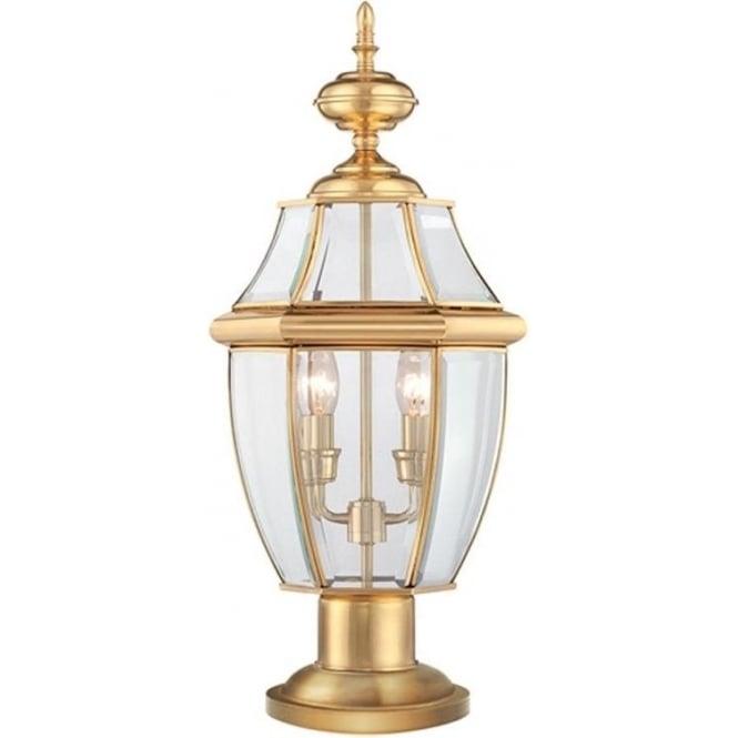 Quoizel Newbury pedestal - Brass