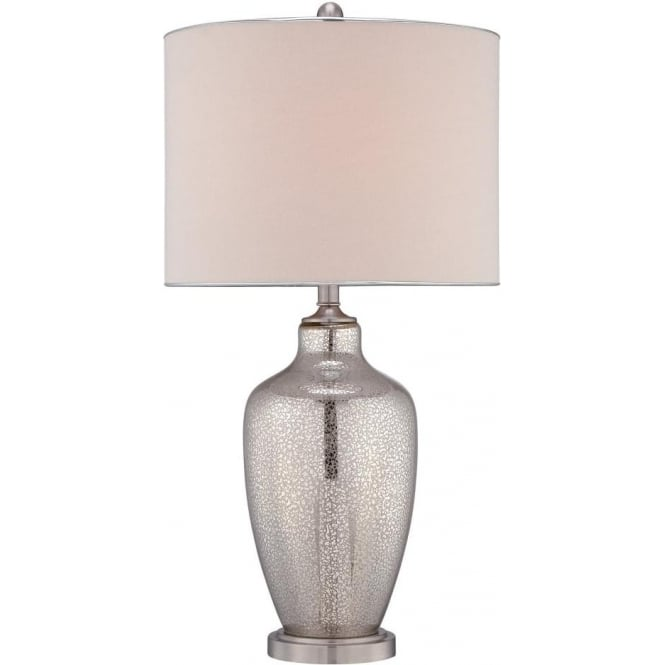 Quoizel Nicolls Glass Table Lamp