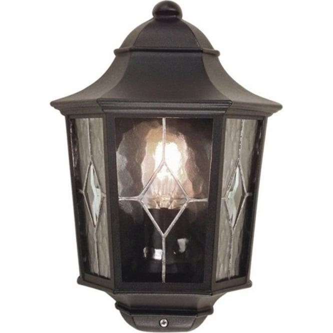 Elstead Lighting Norfolk Half Lantern 2 - Black